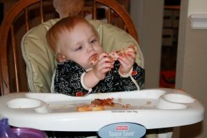 Birthday pizza- Kyla