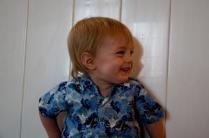 Smiling Lucas