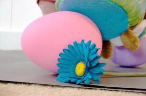 Easter Egg and Flower