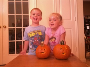 Jack and Jackie O'Lanterns!